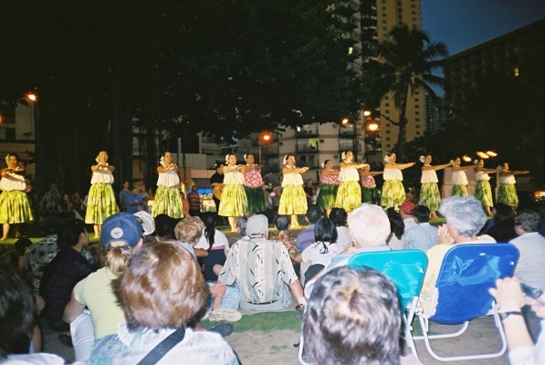The Hula Dance show