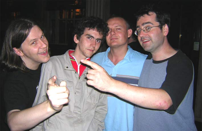 Gary, Adam, Frankie and me 'Before' - compare and contrast with us 'After'!